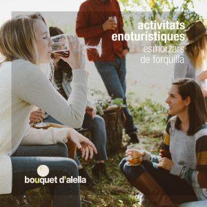 Bouquet-Alella-Esmorzars-Forquilla